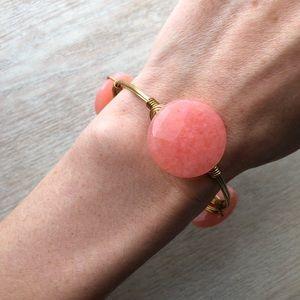Pink Stone Bourbon And Bowties Bangle